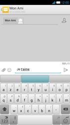 Bouygues Telecom Ultym 4 - Contact, Appels, SMS/MMS - Envoyer un SMS - Étape 9