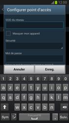 Samsung Galaxy Note 2 - Internet et connexion - Partager votre connexion en Wi-Fi - Étape 9