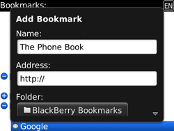 BlackBerry 9700 Bold - Internet - Internet browsing - Step 9