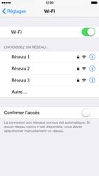 Apple iPhone 6 iOS 8 - Wifi - configuration manuelle - Étape 4