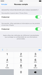Apple iPhone 6 Plus - Applications - Créer un compte - Étape 17