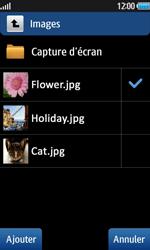 Samsung Wave 2 - Contact, Appels, SMS/MMS - Envoyer un MMS - Étape 11