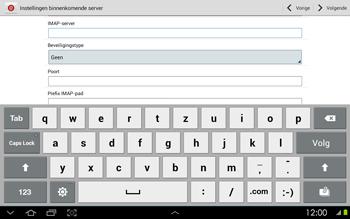 Samsung P5100 Galaxy Tab 2 10-1 - E-mail - Handmatig instellen - Stap 9