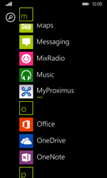 Nokia Lumia 530 - Applications - MyProximus - Step 10
