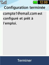 LG T580 - E-mails - Ajouter ou modifier un compte e-mail - Étape 14