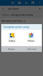 Samsung G530FZ Galaxy Grand Prime - E-mail - Sending emails - Step 12