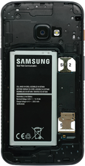 Samsung galaxy-xcover-4s-dual-sim-sm-g398fn - Instellingen aanpassen - SIM-Kaart plaatsen - Stap 7