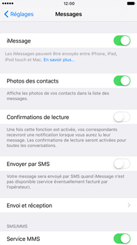 Apple iPhone 7 Plus - iOS features - Envoyer un iMessage - Étape 5