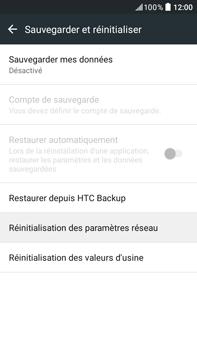 HTC Desire 825 - Aller plus loin - Restaurer les paramètres d'usines - Étape 5