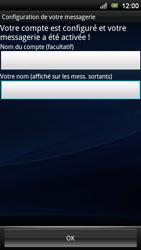 Sony Ericsson Xperia Neo V - E-mail - Configurer l
