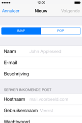 Apple iPhone 4 iOS 7 - E-mail - Account instellen (POP3 zonder SMTP-verificatie) - Stap 10