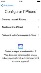 Apple iPhone 5s - Premiers pas - Créer un compte - Étape 9