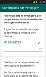 Samsung Galaxy Trend Plus - Aplicações - Como configurar o WhatsApp -  8