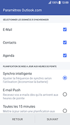 HTC 10 - Android Nougat - E-mail - 032c. Email wizard - Outlook - Étape 8