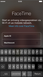 Apple iPhone 5 met iOS 7 - Applicaties - FaceTime gebruiken - Stap 5
