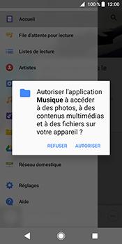 Sony Xperia XZ2 - Photos, vidéos, musique - Ecouter de la musique - Étape 4