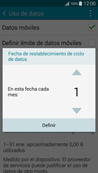 Samsung Galaxy A3 - Internet - Ver uso de datos - Paso 7
