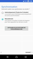 Sony Xperia XZ Premium - E-mails - Ajouter ou modifier un compte e-mail - Étape 21
