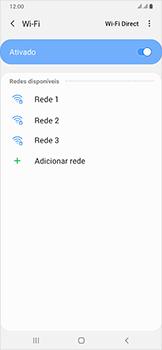 Samsung Galaxy A50 - Wi-Fi - Como configurar uma rede wi fi - Etapa 7