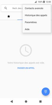 Sony Xperia XZ2 - Messagerie vocale - configuration manuelle - Étape 6