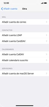 Apple iPhone X - E-mail - Configurar correo electrónico - Paso 6