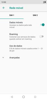 Motorola One - Rede móvel - Como ativar e desativar o roaming de dados - Etapa 7