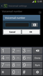 Samsung I9295 Galaxy S IV Active - Voicemail - Manual configuration - Step 8