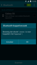 Samsung G900F Galaxy S5 - Bluetooth - koppelen met ander apparaat - Stap 9
