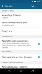HTC One M9 - Sécuriser votre mobile - Activer le code de verrouillage - Étape 12