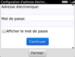 BlackBerry 9720 - E-mails - Ajouter ou modifier un compte e-mail - Étape 8