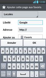 LG E460 Optimus L5 II - Internet - Navigation sur Internet - Étape 7
