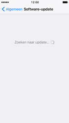 Apple iPhone 5c iOS 10 - Software update - update installeren zonder PC - Stap 5