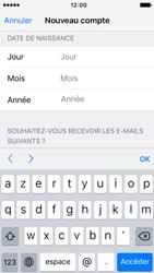 Apple iPhone 5s iOS 9 - Applications - Créer un compte - Étape 15