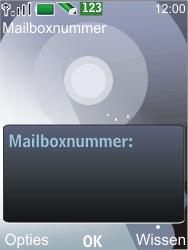 Nokia 7210 supernova - Voicemail - Handmatig instellen - Stap 6