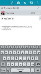 Samsung G900F Galaxy S5 - E-mail - Bericht met attachment versturen - Stap 17
