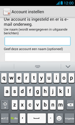 Huawei Ascend Y300 - E-mail - Account instellen (IMAP zonder SMTP-verificatie) - Stap 18