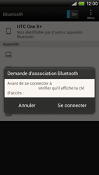 HTC S728e One X Plus - Bluetooth - connexion Bluetooth - Étape 10
