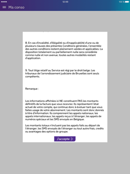Apple iPad Pro (9.7) - Applications - MyProximus - Étape 12