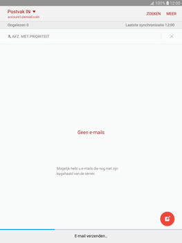 Samsung Galaxy Tab S2 9.7 (T815) - E-mail - E-mail versturen - Stap 21