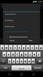 Sony LT30p Xperia T - WiFi - Handmatig instellen - Stap 8