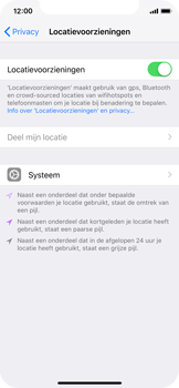 Apple iPhone X - iOS 12 - Beveiliging en privacy - zoek mijn iPhone activeren - Stap 6