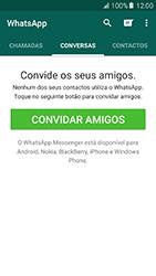 Samsung Galaxy A5 (2016) (A510F) - Aplicações - Como configurar o WhatsApp -  10