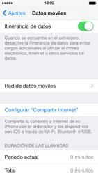 Apple iPhone 5s - Internet - Configurar Internet - Paso 7