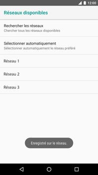 Huawei Nexus 6P - Android Oreo - Réseau - Sélection manuelle du réseau - Étape 11