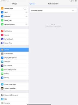 Apple iPad Pro 12.9 (2018) - Device - Software update - Step 7