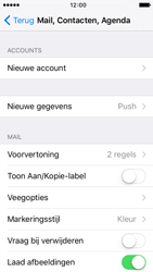 Apple iPhone SE - E-mail - Account instellen (IMAP met SMTP-verificatie) - Stap 4