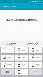 Samsung Galaxy A5 - Segurança - Como ativar o código de bloqueio do ecrã -  8