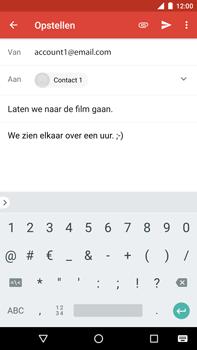 Huawei Nexus 6P - Android Oreo - E-mail - e-mail versturen - Stap 8