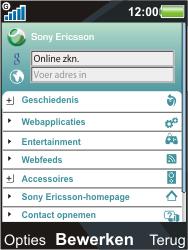 Sony Ericsson C903 - Internet - Handmatig instellen - Stap 18