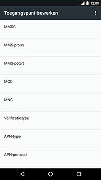 Android One GM5Plus DS - Internet - handmatig instellen - Stap 14